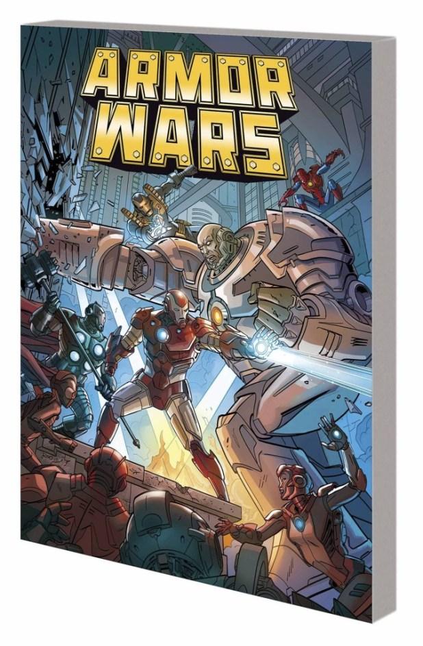 Armor Wars Warzones Trade Paperback