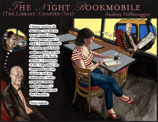 The Night Bookmobile © Audrey Niffenegger