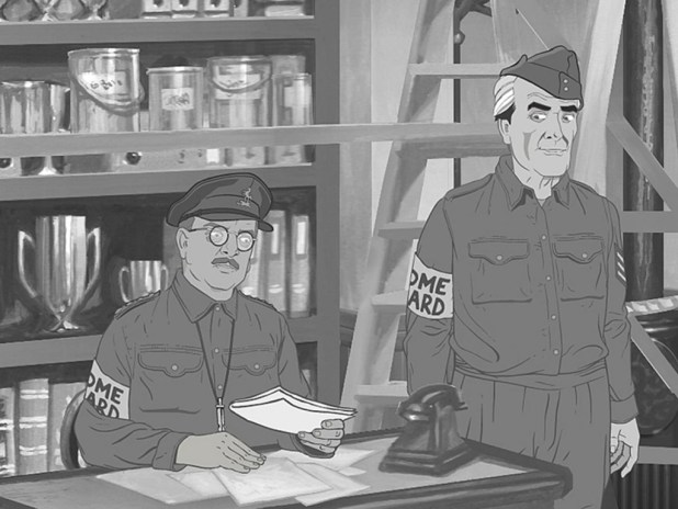 """The lost Dad's Army episode """"A Stripe For Frazer"""" will be available on new digital service BBC Store from Thursday 4th February, 2016"""