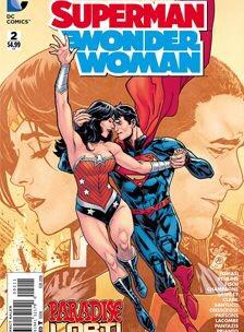 Superman - Wonder Woman by Marco Santucci