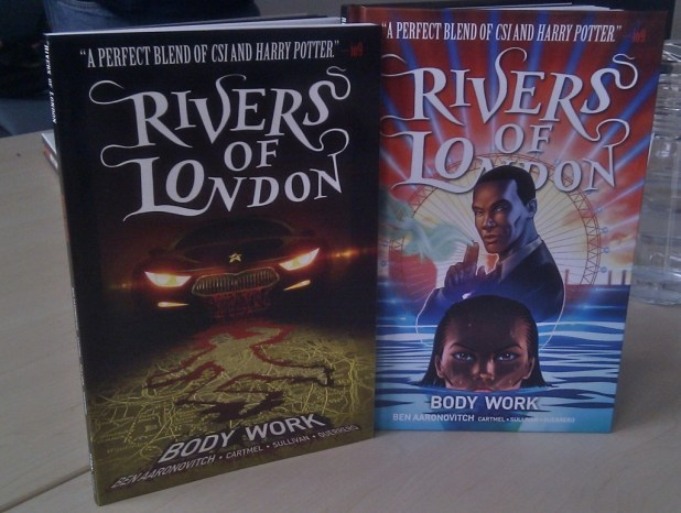 Rivers of London: Body Work, the first official comic strip based on Ben Aaronovitch's acclaimed fantasy/ police procedural novels, will be released as a softback and hardback collection by Titan Comics. Photo: Lee Sullivan