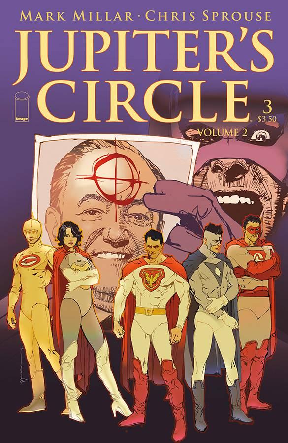 Jupiter's Circle Volume 2 #3