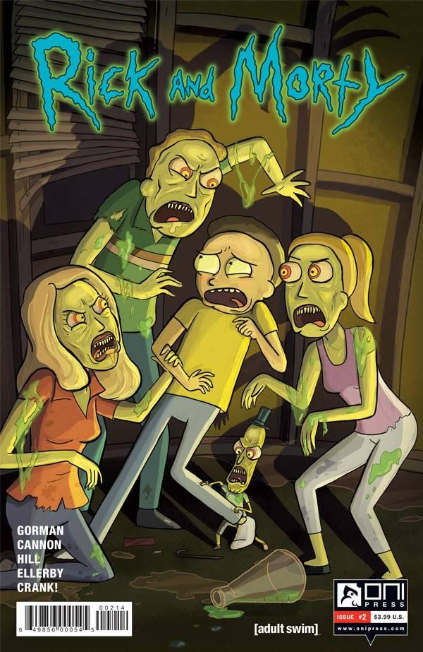 Rick & Morty #2 4th Ptg