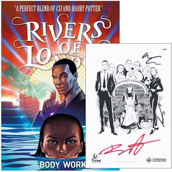 Rivers of London - Body Work Forbidden Planet Exclusive