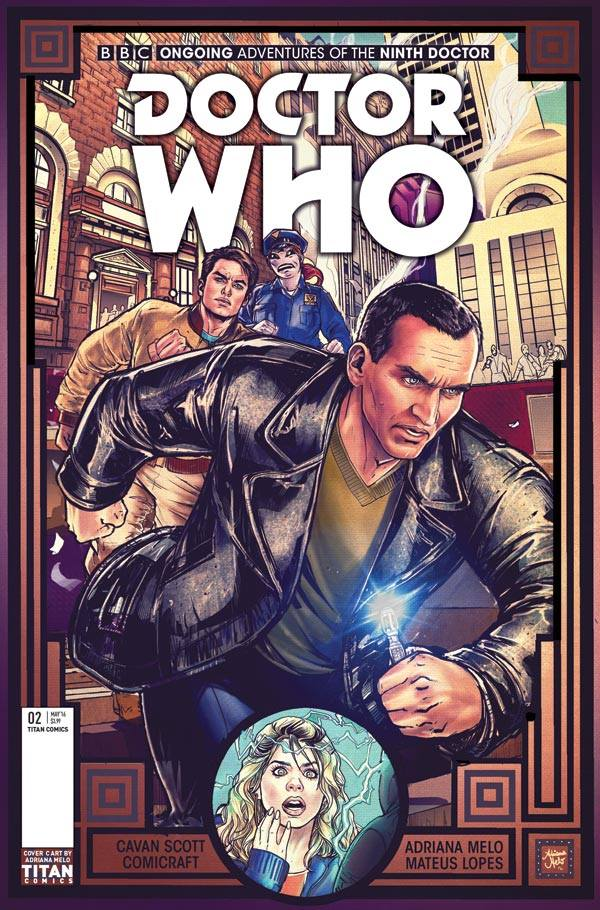 Doctor Who: The Ninth Doctor #2 - Cover C - Adriana Melo