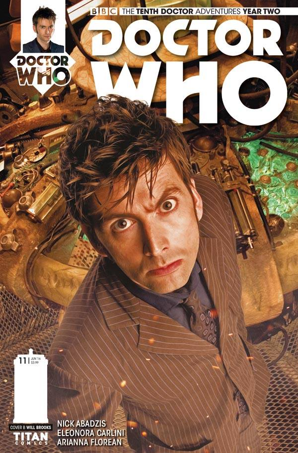 Doctor Who: The Tenth Doctor Year Two #11 - Cover B