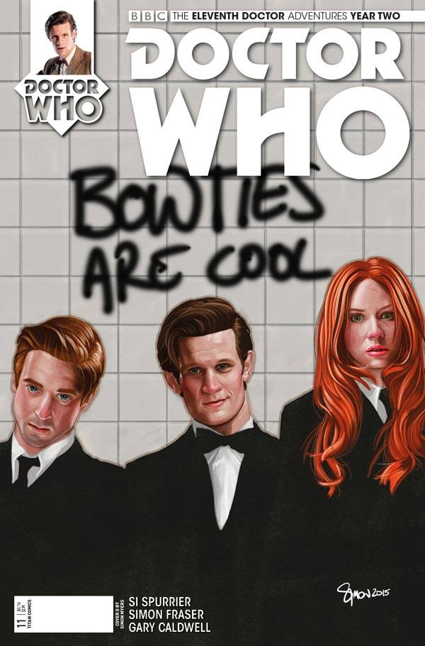 Doctor Who: The Eleventh Doctor: Year Two #11 Cover D By Simon Mysers