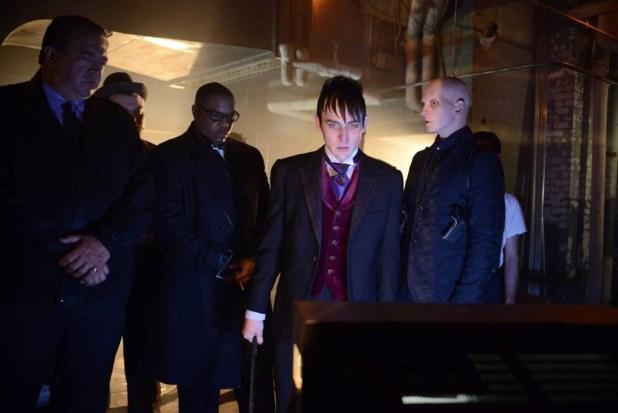 The Penguin's gang gathers for revenge...
