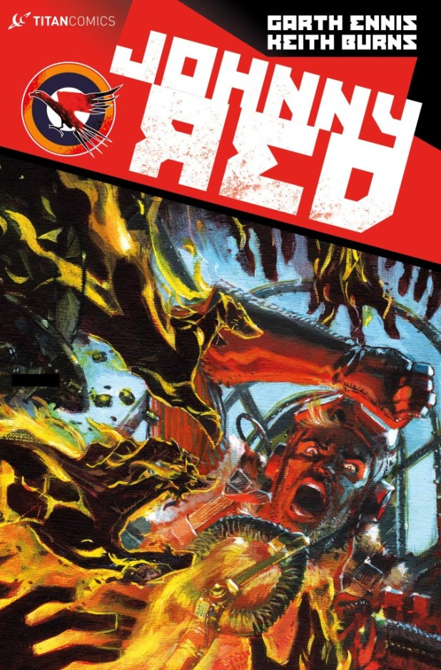 Johnny Red #4 Cover B by Keith Burns