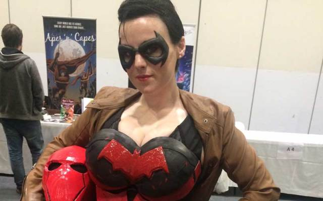 Cosplayer Gingersnap at London Super Comic Con. She's been a cosplayer for about seven years. Photo: Antony Esmond