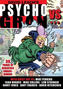 Psycho Gran Vs... - Cover