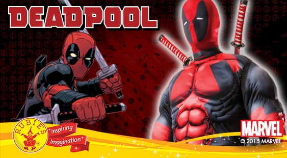Rubies Deadpool Costumes - Promotional Image