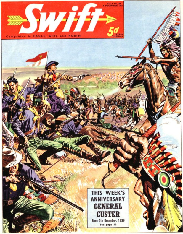 Swift - cover dated 9th December 1961