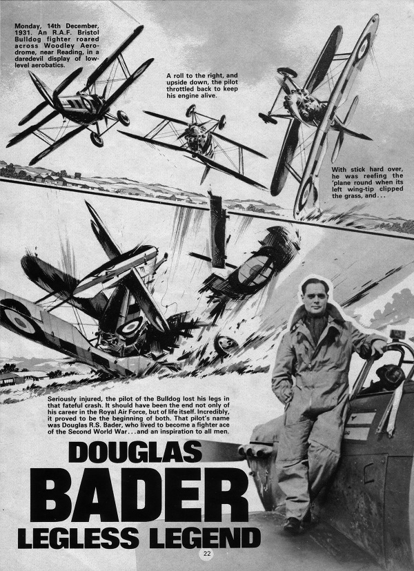 True War: The Douglas Bader Story, art by Ian Kennedy