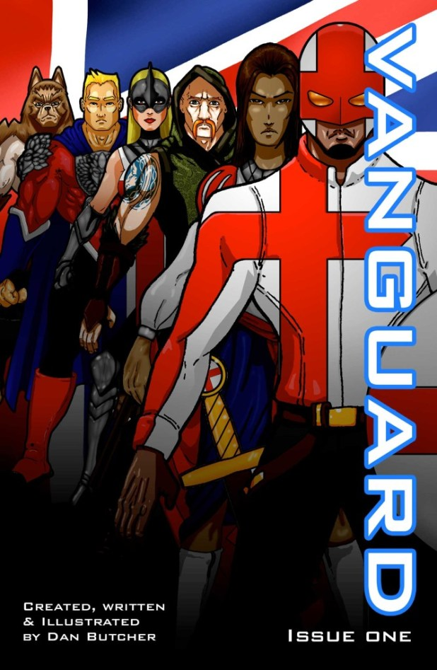 The original cover to Vanguard #1