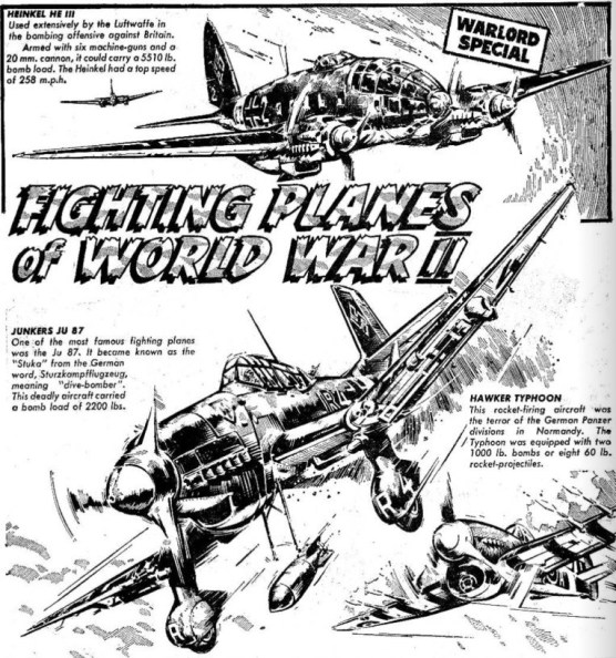 Warlord 1 Fighting Planes of World War Two