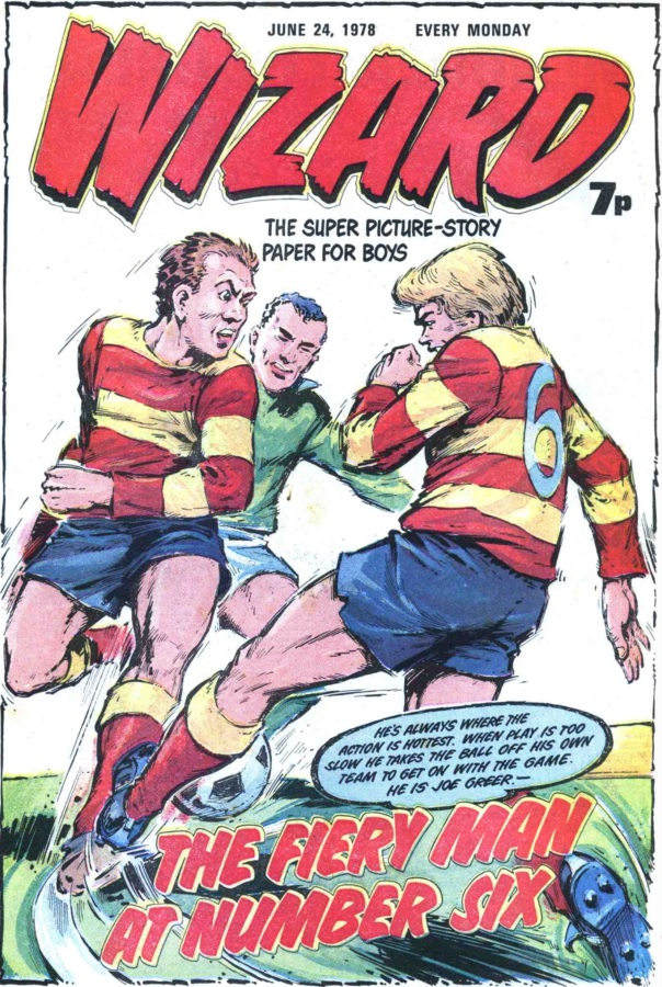 Wizard 437 - cover dated 24 June 1978