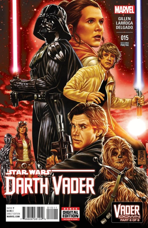 Darth Vader #15 Brooks 2nd Printing Variant