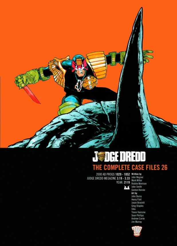 Judge Dredd Complete Case Files Trade Paperback Volume 26