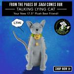 Lying Cat Plush Toy _ Emerald City Comicon Variant