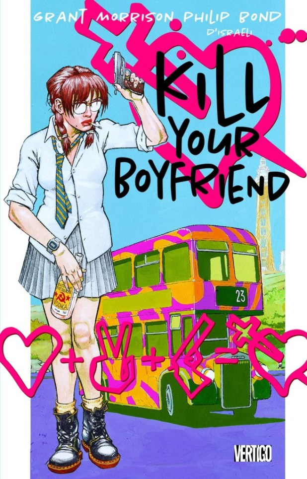 Kill Your Boyfriend Vinamarama Deluxe Edition Hard Cover