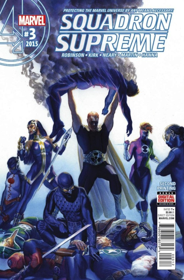 Squadron Supreme #3 Alex Ross 2nd Printing Variant