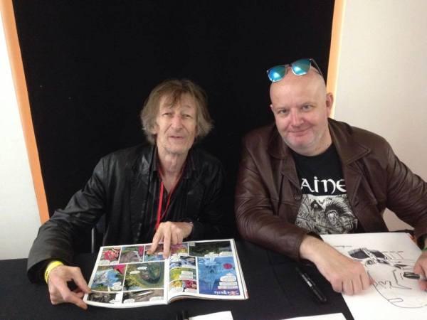 Alan Grant (left) and Jon Haward. Photo via Jon Haward