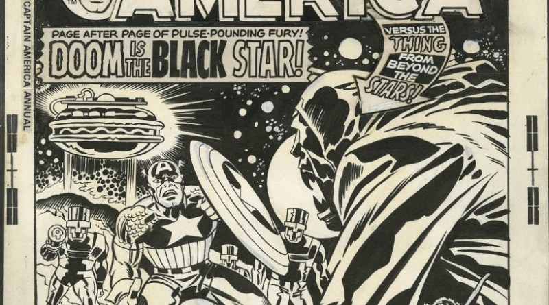 Captain America Annual #3 Cover (1976) art by Jack Kirby