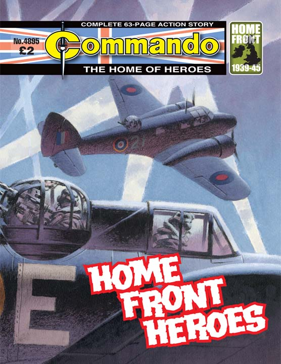 Commando No 4895 – Home Front Heroes