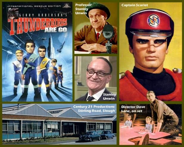 Eagle Daze 8– Thunderbirds are Go, Stanley Unwin & Captain Scarlet