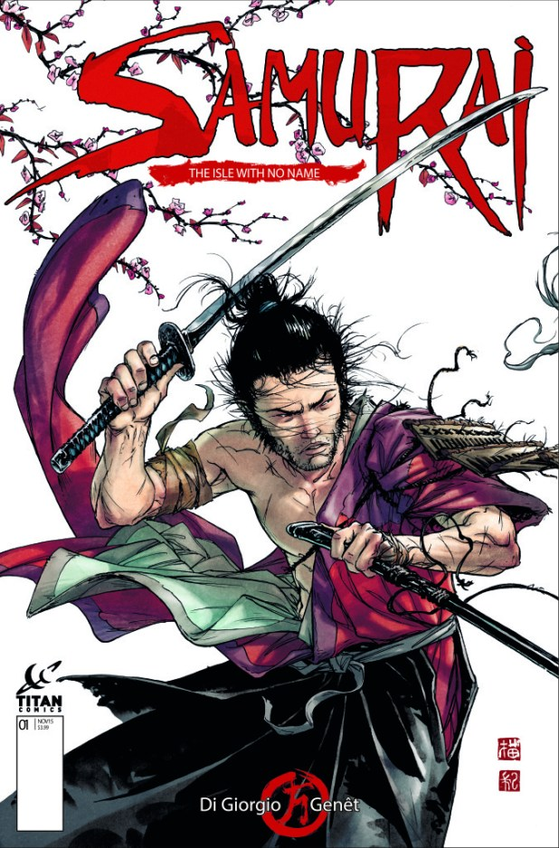 Samurai Comic 1 Cover A - Frédéric Genét