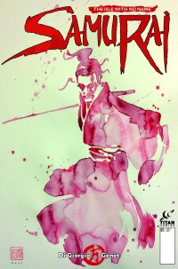Samurai Comic #1 - Cover B by David Mack