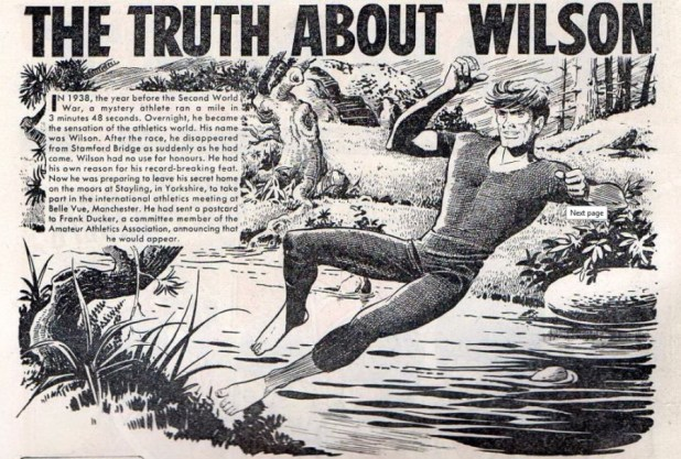 The Hornet The Truth About Wilson issue 54 19 Sep 1964