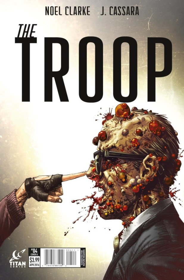 The Troop #4 - Cover
