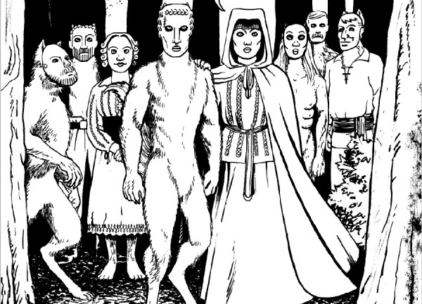 Tales Of The Damned Book 2 Issue 1 - Woodcut