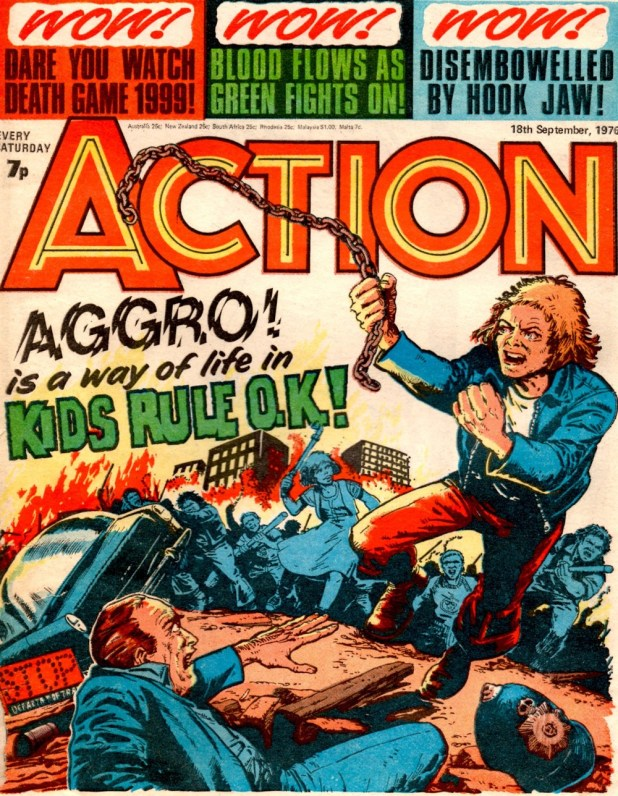 Action - Cover Dated 18th September 1976