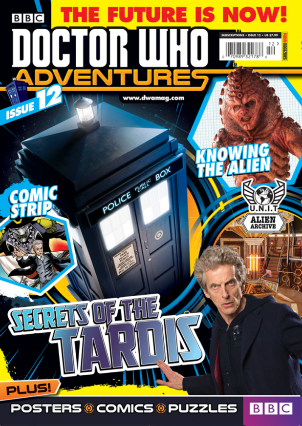 Doctor Who Adventures Issue 12 - Cover