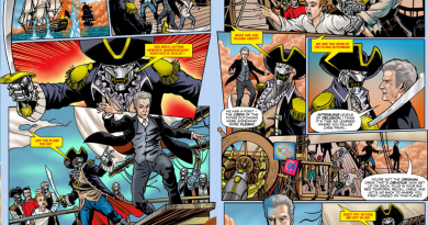 "Doctor Who Adventures Issue 12 - ""Ghost of the Seas"""
