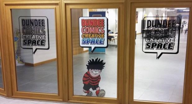Dundee Comics Creative Space