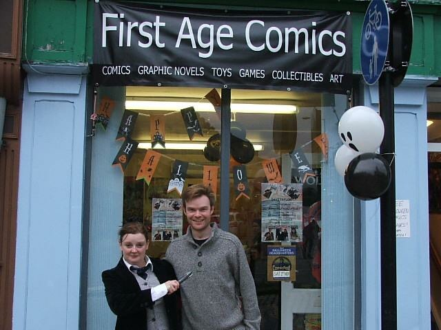 Small press friendly: Lancaster's First Age Comics is just one of many UK comic shops offering space to small press comics