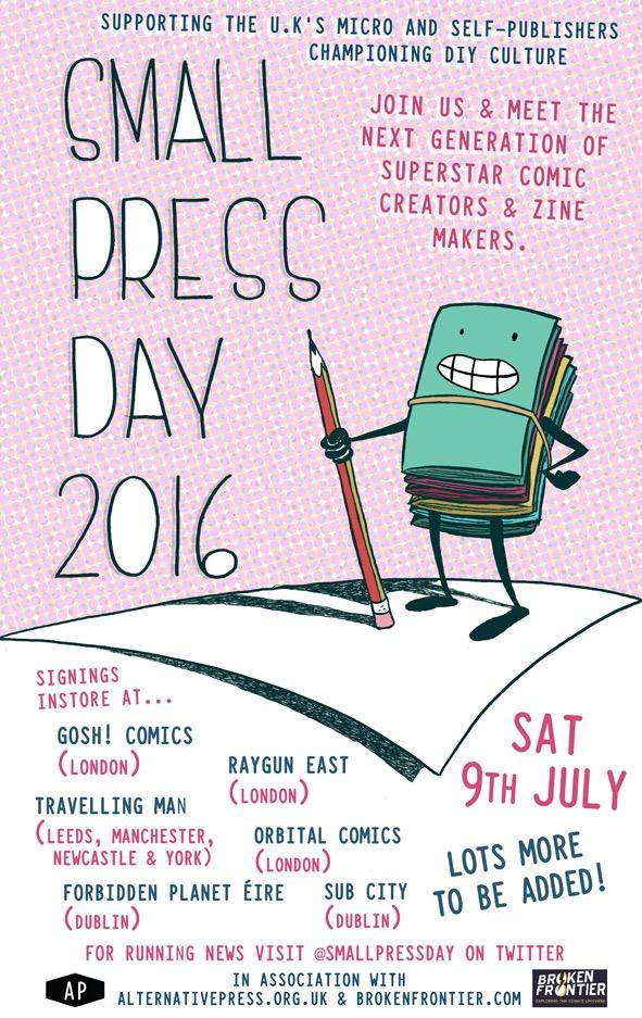 Small Press Day 2016