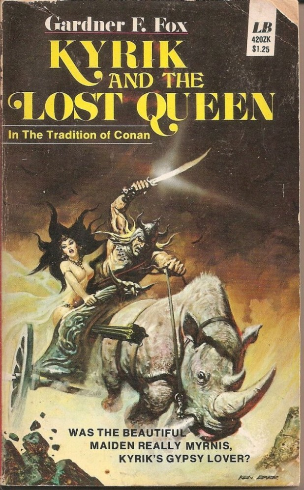 Ken Barr's cover for Kyrik and the Lost Queen