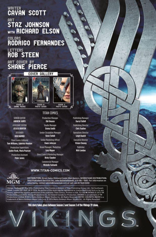 Viking #1 - Credits