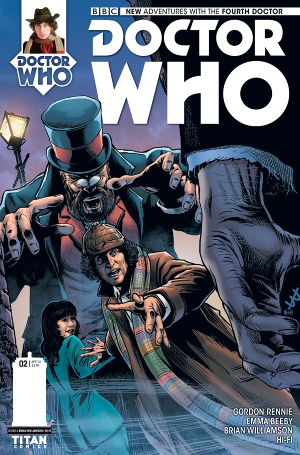 Doctor Who: The Fourth Doctor #2 - Cover A