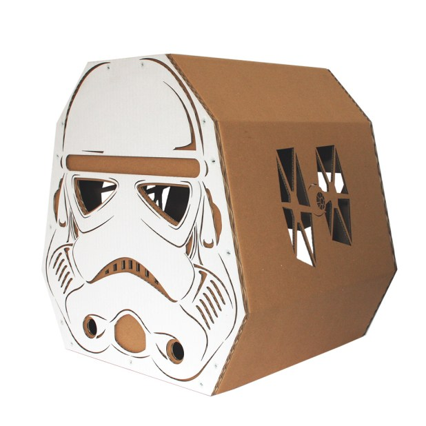CacaoFurniture Star Wars Cat Box
