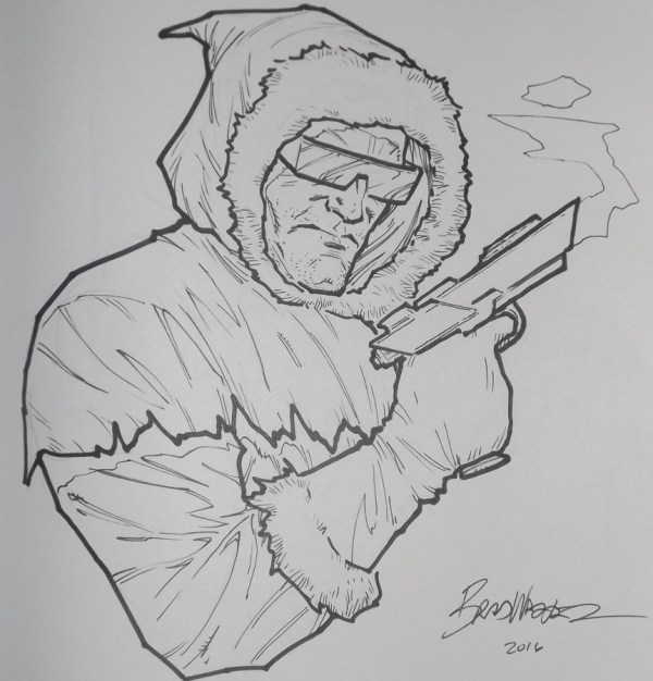 Captain Cold by Brad Walker