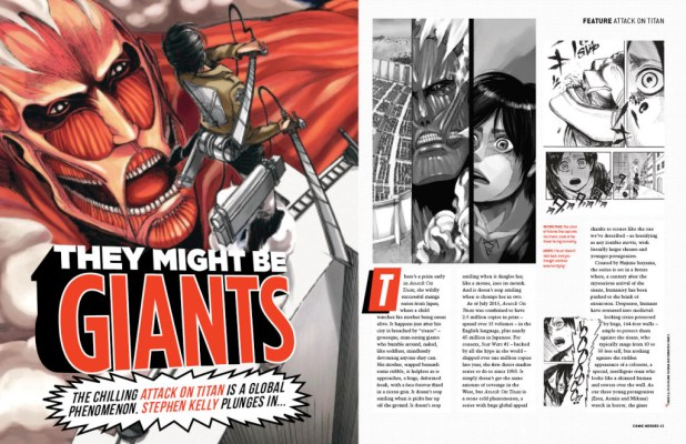 Comic Heroes 27 Spread - Titan