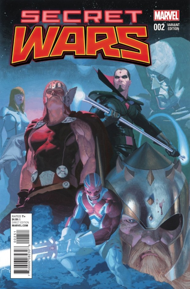 Secret Wars #2 2015 - Esad Ribic Variant Cover
