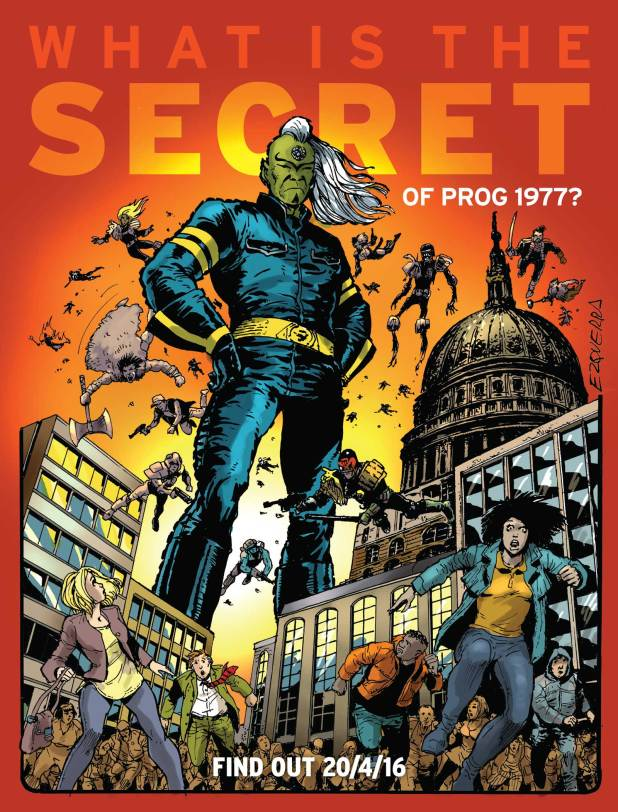 What Is the Secret of Prog 1997? Art by Carlos Ezquerra