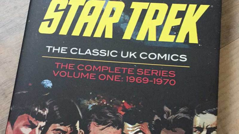 In Review: Star Trek: The Classic UK Comics Volume One